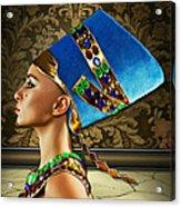 Nefertiti Acrylic Print