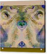 Negdogface Acrylic Print