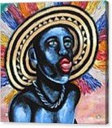 Negrito In Carnival 2 Acrylic Print