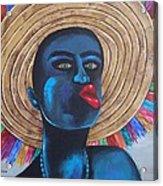 Negrito In Carnival Acrylic Print