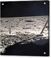 Neil Armstrong On The Moon - 1969 Acrylic Print