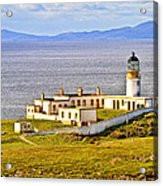 Neist Point Lighthouse Isle Of Skye Acrylic Print