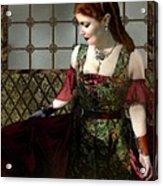 Nell Gwynn Meets The King Acrylic Print