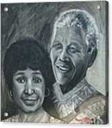 Nelson And Winnie Acrylic Print