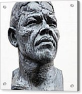 Nelson Mandela Statue Acrylic Print