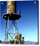 Nelson Studio  Color - Lucerne Valley Acrylic Print