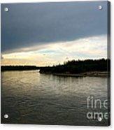 Nenana River Acrylic Print