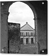 Neoclassical Storehouse And Arch Yaxcopoil Mexico Acrylic Print