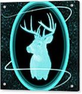 Neon Buck Acrylic Print
