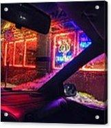 Neon Freeze Acrylic Print