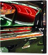 Neon Reflections Acrylic Print
