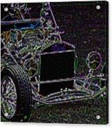 Neon Roadster Acrylic Print