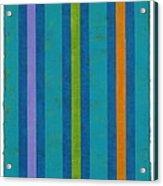 Neon Stripes IIi Acrylic Print