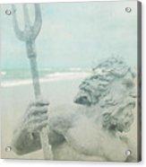 Neptune's Myth Acrylic Print