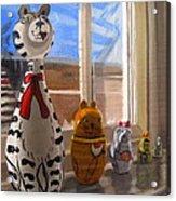 Nested Cats Acrylic Print
