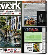 Network Magazine Feature Acrylic Print