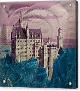 Neuschwanstein Castle  Acrylic Print by Metal Art Studio