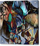 Neutral Tones Acrylic Print