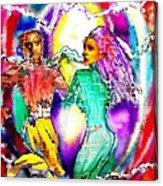 Neutron Dance Acrylic Print