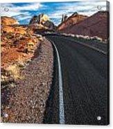 Nevada Highways Acrylic Print