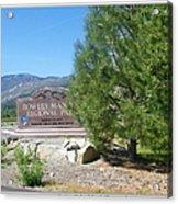 Nevada Landmark Acrylic Print