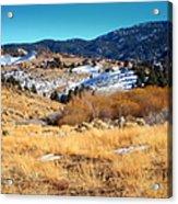 Nevada Landscape Acrylic Print