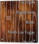 Nevada Acrylic Print