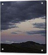 Nevada Skies Over Red Mountain Acrylic Print