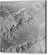 Nevada Skyview Acrylic Print