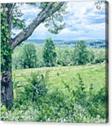 Never Ending Fields Acrylic Print