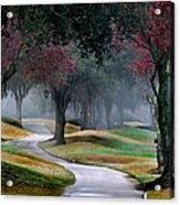 Never-ending Path Acrylic Print