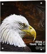 Never Forget - Memorial Day Acrylic Print