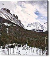 Never Summer Wilderness Area Panorama Acrylic Print