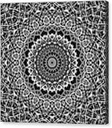 New Abstract Plaid Kaleidoscope Acrylic Print