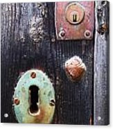 New And Old Locks Acrylic Print