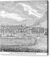 New Bedford, 1839 Acrylic Print