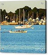 New Bedford Pier Acrylic Print