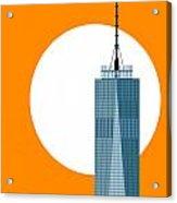 New Beginnings Freedom Tower Acrylic Print