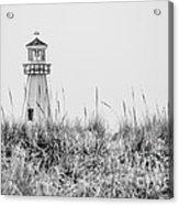 New Buffalo Lighthouse In Southwestern Michigan Acrylic Print