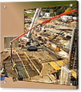 New Commercial Construction Site 02 Acrylic Print