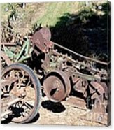 New Crop Antiquated Plow Acrylic Print