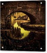 New Cross Bridge Acrylic Print