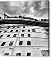 New Cruise New Crowds New Clouds Acrylic Print