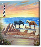 New Day - Hatteras Acrylic Print