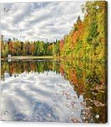 New England Autumn - White Mountains New Hampshire Usa  Acrylic Print
