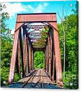New England Bridge Acrylic Print