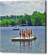 New England Watersports Acrylic Print