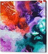 New Freedom Canvas One Acrylic Print