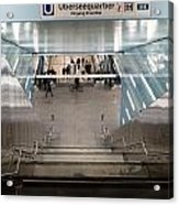 New Hafencity Station In Hamburg Acrylic Print