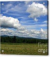 New Hampshire Blue Sky  Acrylic Print